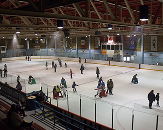 Tumbler Ridge Hockey Rink